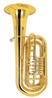 Wholesale 3 Brass Tuba Valve Tuba Bb Tone with ABS Case OEM Musical instruments Shipping time days