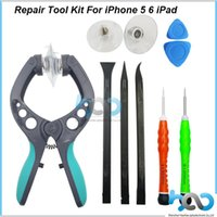 apple iphone disassembly - LCD Screen Opening Pliers Tool Screwdrivers Pry Suction for Disassembly iPhone S S Mobile Phone Repair Tools Kit
