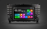 Wholesale New quot Din Car DVD GPS For Mercedes Benz C class With Canbus RDS Radio Bluetooth