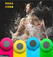 Wholesale Waterproof Wireless Bluetooth Mini Speaker Shower Outdoor BTS IPX7 With Bathroom Suction Cup For Iphone Android