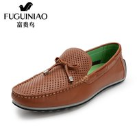 authentic hard drive - Fuguiniao Authentic Korean Leisure Shoe Doug hollow hollow ventilating shoes shoes breathable shoes driving