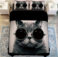 bedding decor - cat D bedding set for boys childrens home decor full queen king size bed linens comforter duvet covers pieces bedclothes