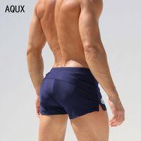beach perfume - Swim Swimwear Men Swimming Trunks sexy Boxer Swimsuit Beach Shorts for Perfume Sunga Masculinas