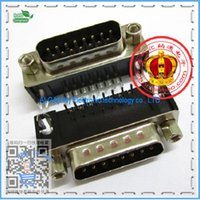 Wholesale DB15 male conQuality Assurancetor DB15 Pin Male DR15 rows of curved foot double welded plate