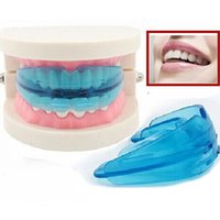 Cheap Tooth Orthodontic Appliance Trainer Alignment Braces Mouthpieces Straightener Retainer Orthodontic Buck Brackets Irregular Dental 2016 hot