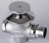 Wholesale Copper foot flusher concealed flush valve concealed foot stool pit delay valve