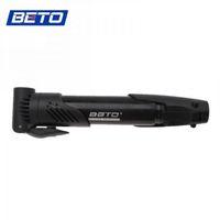 beto cycling pump - Hot selling BETO Cycling Mini Portable Bike Bicycle Black Skidproof Tire Inflator Air Pump