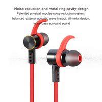 Wholesale Sport Headphone Waterproof IPX7 Wireless Stereo Metal Headset Sports Bluetooth Speaker Earphone Bluetooth CSR4 With Retail Package