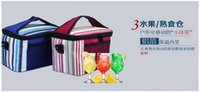 Wholesale Fashion lunch bag Oxford cloth portable insulation package Insulation ice bag lunch bags
