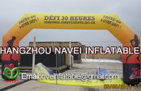Wholesale New custom wonderful classical Inflatable Sports Arch for event advertising for Australia West Advature Event