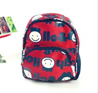 Wholesale Fashion Korean Cartoon Style Two Size Cute Mini Canvas Parent child Backpack Bag Nursery School Student Bag Children Kids Daypack Backpacks