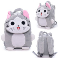 Wholesale Japan Chi s Cat Backpack Plush Kindgarden Kids Tablet Shoulder Backpack Flap Design School Bag cm New Arrival