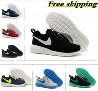 clay - 2015 Newest Roshe Run Men Women Running Shoes London Olympic Outdoor Walking Sneakers Shoes Eur