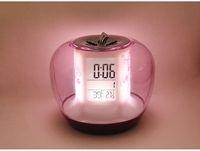 alarms holidays - Creative colorful electronic music alarm clock snooze alarm clock temperature pressure sensors calendar holiday wedding gift