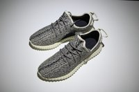 Wholesale moonrock boost Kanye West Casual Shoes Men Women Sports Shoes Black Grey Athletics Boost SIZE US4 With Box