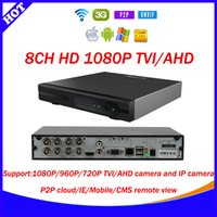 Wholesale 8ch p TVI cctv video surveillance camera security system Hybrid AHD DVR NVR in Video Recorder For TVI AHD Analog IP Camera E SEENET
