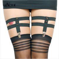 best wedding lingerie - Elastic Garter Belt Harajuku Wedding Garter Sexy Stockings Suspenders Adjustable Leg Harness s Couples Best Lingerie P0014