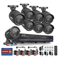 Wholesale 8CH AHD N DVR Security Camera System NO Hard Drive HD Mega Pixels x720 Outdoor CCTV Bullet Cameras