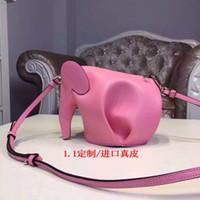 baby spain - superior quality Spain card package Handmade elephant minibag bag full leather bag hi order Tao baby animal model