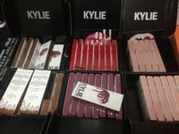 Wholesale Spot Kylie Lip Kit by kylie jenner Matte Lip Gloss lip liner color suit nonstick Cup