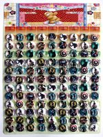 Wholesale 108 sheet The Avengers Heros Captain America MM Round Brooch Tin Buttons Pins Badges Kid gifts
