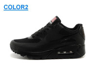 american shoe factory - High Quality Air Hyperfuse Max HYP QS USA flag Men Running Shoes American independence Day factory outlet sneaker for man Eur