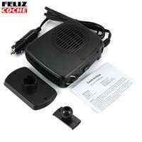Wholesale FELIZCOCHE AUTO in1 V W Car Heater Portable Heating Fan with Swing out Handle Driving Enthusiasts Defroster Demister A1310