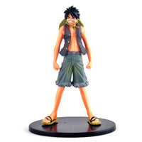 Wholesale Japanese Anime Doll One Piece Action Figure Variable OnePiece Monkey D LUFFY Portgas D Ace PVC Doll Model Toy cm