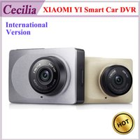 dvr - 10pc DHL International Version Original Xiaomi YI Smart Car DVR P fps Dash Camera inch Degree Angle ADAS G WiFi