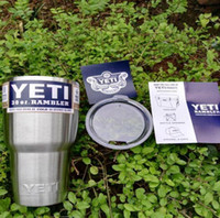 stainless steel mug - 30 oz YETI Tumbler Rambler Cups Yeti Rambler Tumbler Stainless Steel oz Mugs Large Capacity Stainless Steel Travel Mug