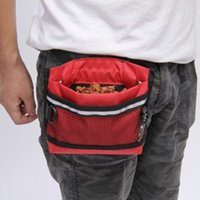 Wholesale Outdoor Portable Dog Pet Treat Training Bait i click Ball Pouch Clicker Food Holder Waist Bag Supply JJ0110