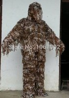 Wholesale camo ghillie suit hunting