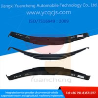 Wholesale China Factory Customized New Design Heavy Duty Si2Mn CrV4 Trailer Taper Leaf Spring Mechanical Suspension System