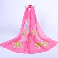 animal beach towels - 2016 spring chiffon scarf long section of scarves sun shawl female Korean Variety scarves dual sun beach towel