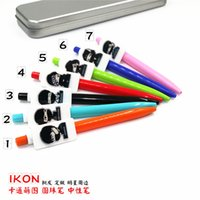 Wholesale 10pcs ballpen ball pen ikon bigbang bts exo got7