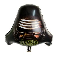 Wholesale 18inch Star Wars balloons spacecraft awakens foil balloon party foil decoration baloons kids toy