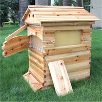 Wholesale Factory price New style honey automatically flow hive with food grade plastic flow frames