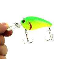Hard Baits bass trout - HENGJIA Fishing Lure Crankbaits Bass Plastic Fishing Lures CM G hooks crank bait minnow trout bass