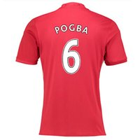 army wear - POGBA MAN Utd Soccer Jersey ROONEY Football Jerseys Tops Customized MATA Soccer Jersey Shirt IBRAHIMOVIC Soccer WEAR