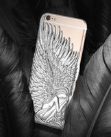 angels covers - 2016 New Wings of Angels Phone Case For iPhone s plus Electroplate PC Back Cover For Samsung s6