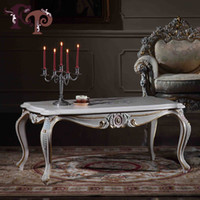 antique side tables - luxury furniture italy design solid wood hand carved square side table