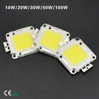 bead warmer - 10Pcs Epistar SMD W W W W W High Power Integrated Chip LED lamp Beads COB Bulb For DIY Floodlight Spotlight