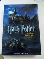Wholesale 70pcs Hottest Selling Harry potter FILM dics US version region Factory Price free DHL