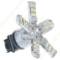 Wholesale 2pcs SMD LED Bright White Dual T20 LL Brake Tail Light Bulbs