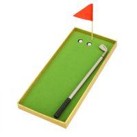 aluminum golf clubs - Creat Golfers Replica Aluminum Alloy Ballpoint Pens Golf Club Pen Set Indoor Have Fun Competition order lt no track