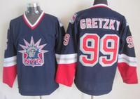 Wholesale personality New York Rangers GRETZKY Hockey Jerseys Cheap discount JAGR Hockey uniforms mens various RICHTER Hockey wear