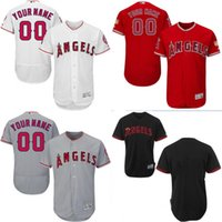 angels shorts - cheap Men s Custom Los Angeles Angels of Anaheim Baseball Jersey Flexbase Collection For Sale stitched size S XL