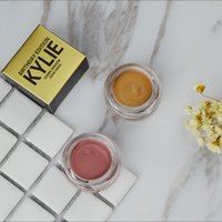 Wholesale Kylie Creme eye Shadow Copper and Rose Gold Colors Kylie Jenner Birthday Limited Edition Kyshadow Metallic Eye Shadow Cosmetics