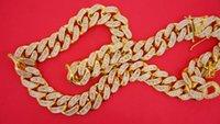 10k gold chain - Exclusive Miami Cuban Link Chain with Baguette Diamonds k Gold Diamonds