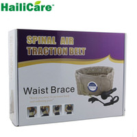Wholesale Hailicare Body Relaxation Massager Back Belt Spinal Air Traction Physio Decompression Back Brace Back Pain Lower Lumbar Support